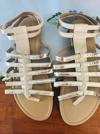 Gold Gladiator Sandals Kissimmee, 34741