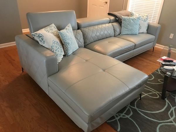 Used Price Reduced Sectional Sofa With Chaise Lounge For Sale In