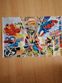 Marvel comics heroes poster Guelph