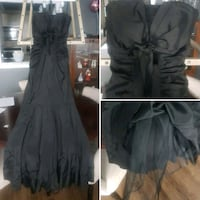 Size 4-6 mermaid style, beautiful gown..wore at a wedding Toronto, M1B 3G8