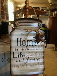 Metal Home Sign Wadsworth, 44281
