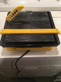 """4"""" Ceramic Tile Wet Saw- Only used 1x Secaucus, 07094"""