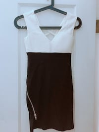 white and black sleeveless dress Vancouver, V5S 0A8