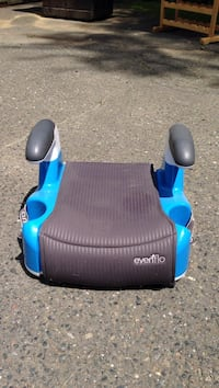 baby's blue and gray Evenflo booster seat Sherborn, 01770