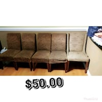 brown wooden framed gray padded sectional couch Germantown, 20874