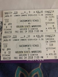 two white and black tickets 2347 mi