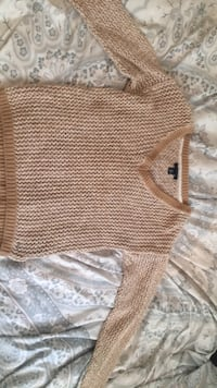 brown and white knitted sweater Guelph, N1E 2K8