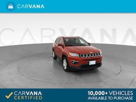 2017 Jeep Compass suv All New Latitude Sport Utility 4D Red