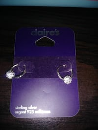 sterling silver Claire's earrings Holly Hill, 32117