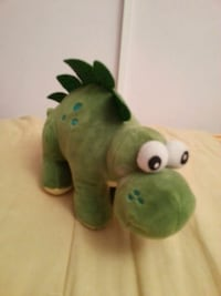 green and white frog plush toy London, SE16 4RX