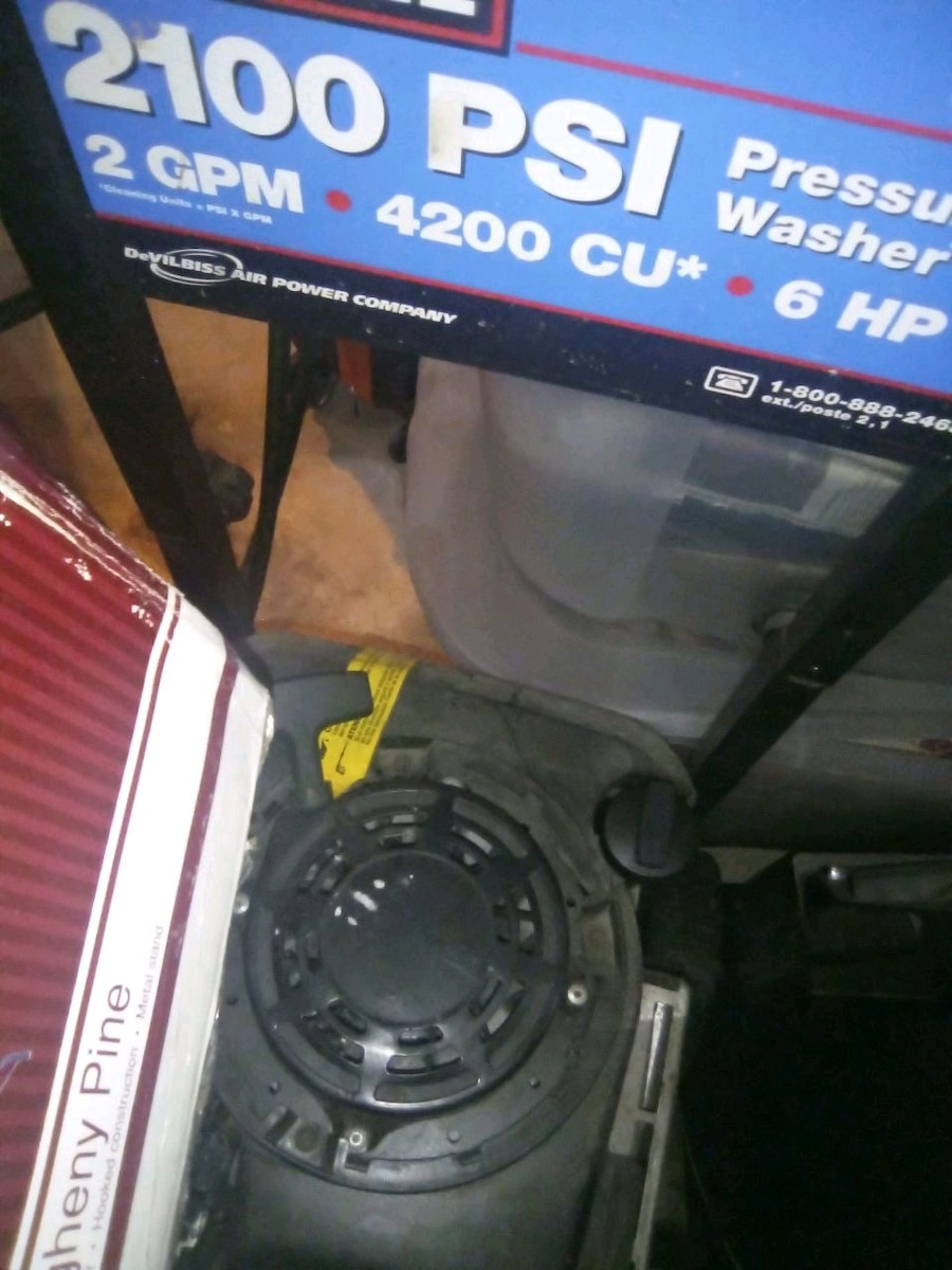 Photo Ex cell pressure washer