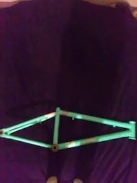 teal bicycle frame Fort Plain, 13339