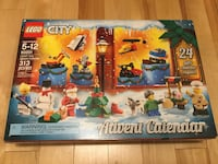 New Lego City Play Set Advent Calendar, 314 pieces Mont-Royal, H3R 1G7