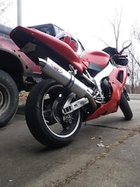 red and black Honda CBR South Connellsville, 15425