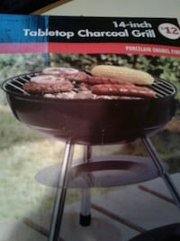 Tabletop charcoal grill still in the box Hagerstown, 21740