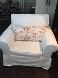 Sofa Chair, shabby chic, ikea, couch  North Vancouver
