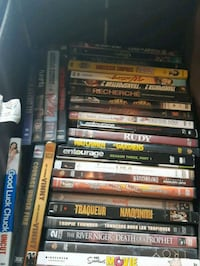 assorted DVD movie case lot Central Okanagan, V4T