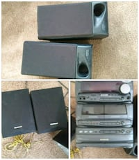black and gray home theater system North Augusta, 29841
