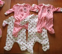Newborn onesies and sleepers Brampton, L6Y 2R9