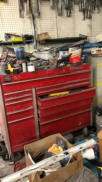 red and gray tool chest North Las Vegas, 89030