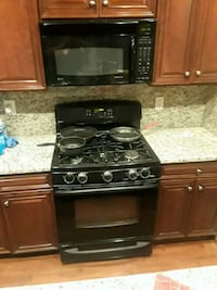 black and gray gas range oven Gainesville