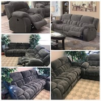 Brand NewRosanna 3- Piece Set Reclining Sofa Loveseat and Chair Calgary, T1Y