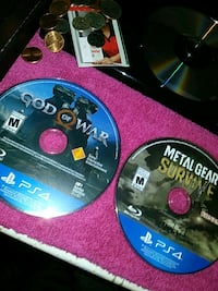 God of war and MGS