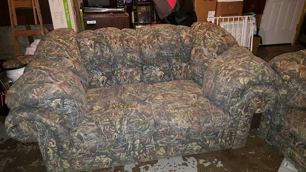 Incredible Camouflage Sofa And Love Seat Theyellowbook Wood Chair Design Ideas Theyellowbookinfo