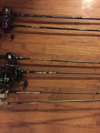 Rods for sale(reel not included)