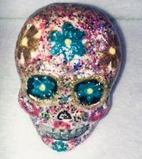 Bejeweled Skull Collectible 1 of 2.