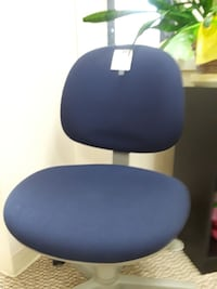 Chair blue fabric adjustable height Sumner, 98390
