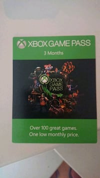 Xbox game pass 3 Monats Code  Hannover, 30169