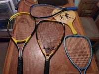 4 rackets two paddles New Caney, 77357