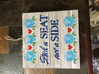 Wedding or Party Pick a Seat Sign Sterling Heights, 48314