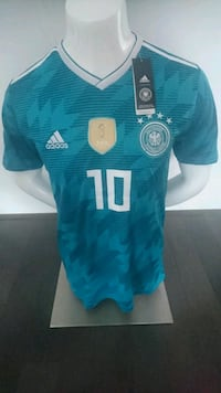 2018 World Cup Germany Away Jersey Ozil#10  Mississauga, L5B 0G4