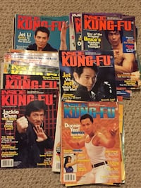 INSIDE KUNG FU MAGS