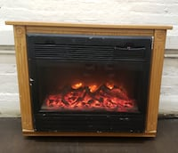 HEAT SURGE Electric Fireplace, Model ADL-2000M-X,  Baltimore