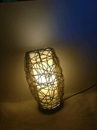Natural lamp. Pendent style or table top.  Meridian, 83642