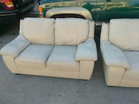 2PC Leather Sofa/Chair.. Baltimore, 21223