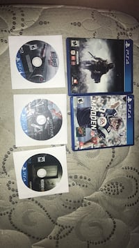 Playstation 4 games (ps4) Walkersville, 21793