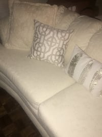 White suede couch Waterloo, N2L 3E6