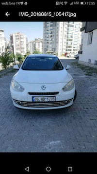 2012 MODEL RENAULT FLUENCE  Ankara