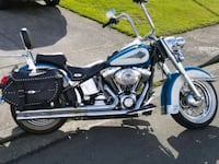 black and blue cruiser motorcycle Troutdale, 97060