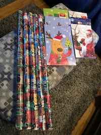 Christmas gift wrap 5 rolls and 21 boxes  Chicago, 60638