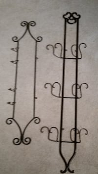 3 IRON WALL MOUNT DISPLAYS FOR DECORATIVE PLATES Seattle