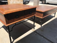 2 tables one coffee table one end table  Las Vegas, 89107