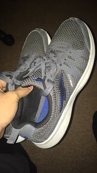 unpaired gray and blue Nike running shoe Bloomsburg, 17815
