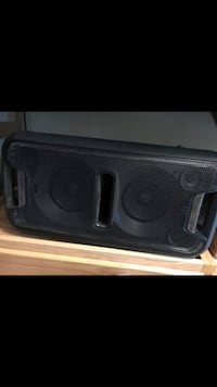 black and gray subwoofer speaker Fort Myer, 22211