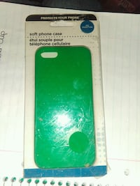 IPhone 5 or iPhone 5S case soft rubber Fort Worth, 76107