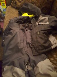 Old navy jacket and snow pants